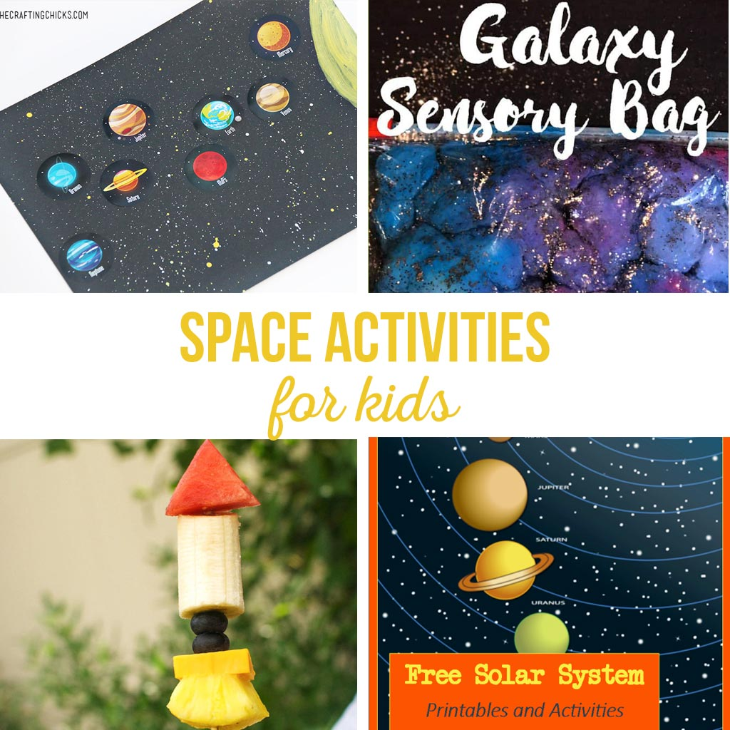 Space Crafts For Kids Space Activities For Kids The Crafting Chicks