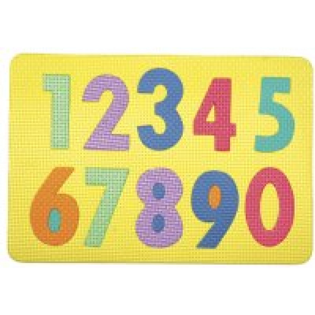 Tappeto Puzzle Toys Center Foam Number Puzzle - Math - Learning Center - The Craft