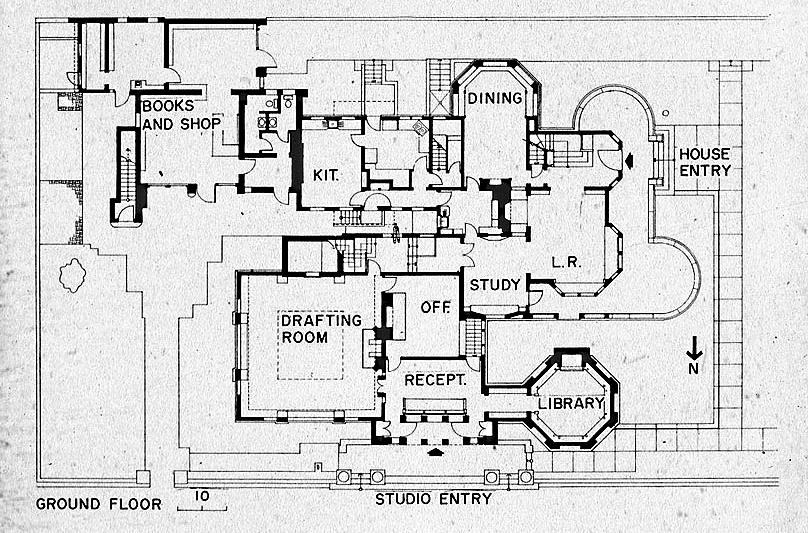 evolving aesthetic frank lloyd wright home studio oak frank lloyd wright style house plans comely frank lloyd wright