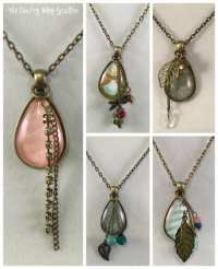 How to Make a Jewelry Pendant Necklace - The Crafty Blog ...