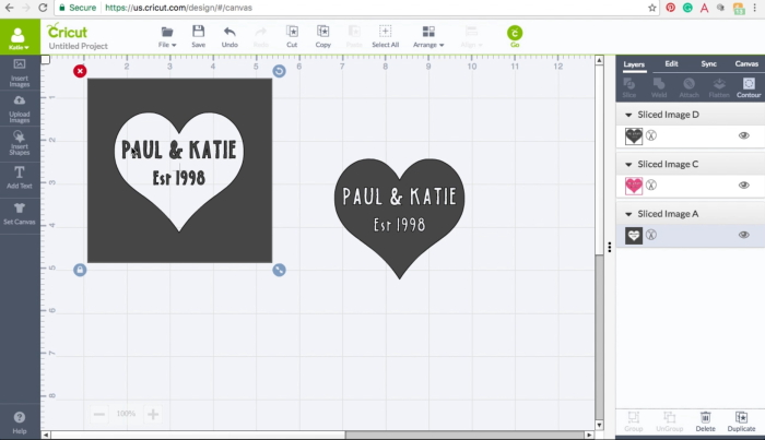 How to Make a Stencil in Cricut Design Space - The Crafty Blog Stalker