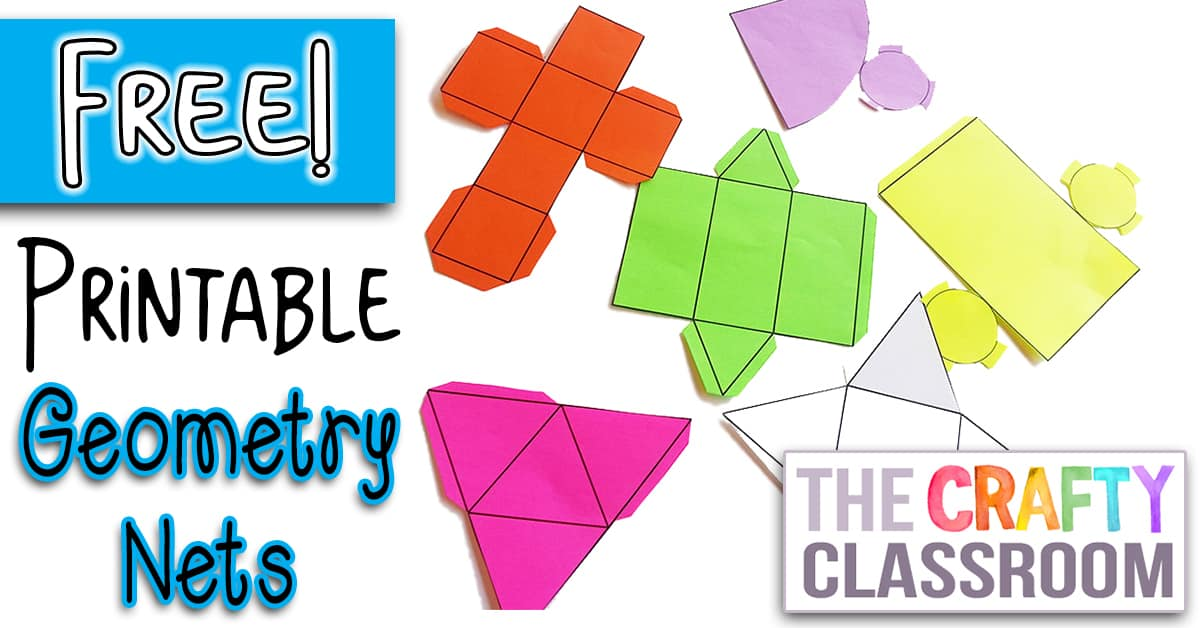 Printable Nets - The Crafty Classroom