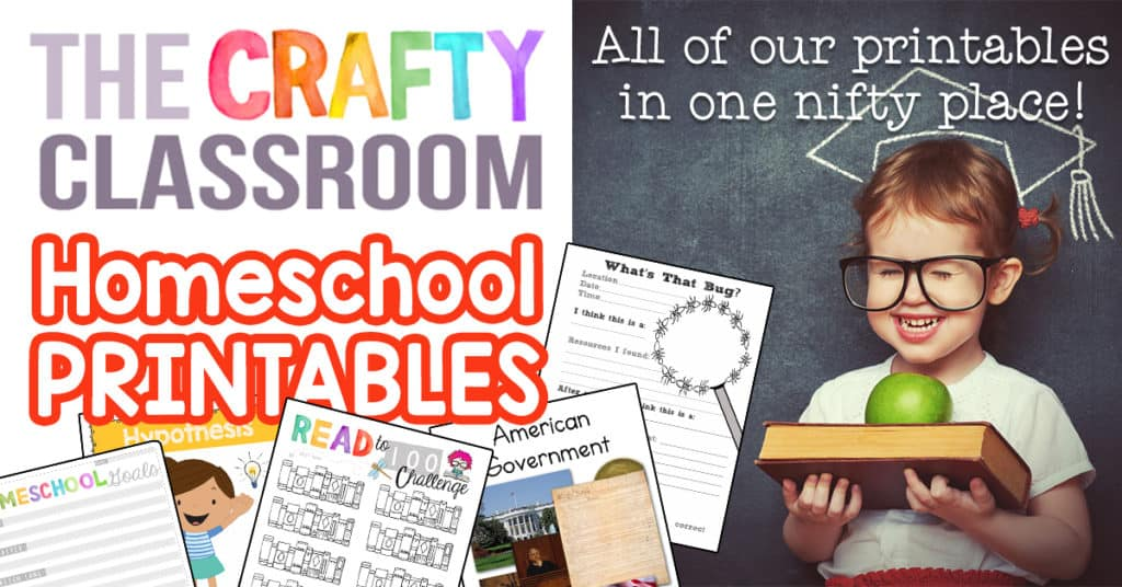 Homeschool Printables - The Crafty Classroom