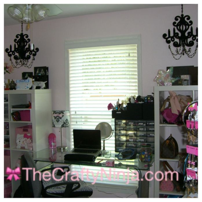 Pink Room Craft Room
