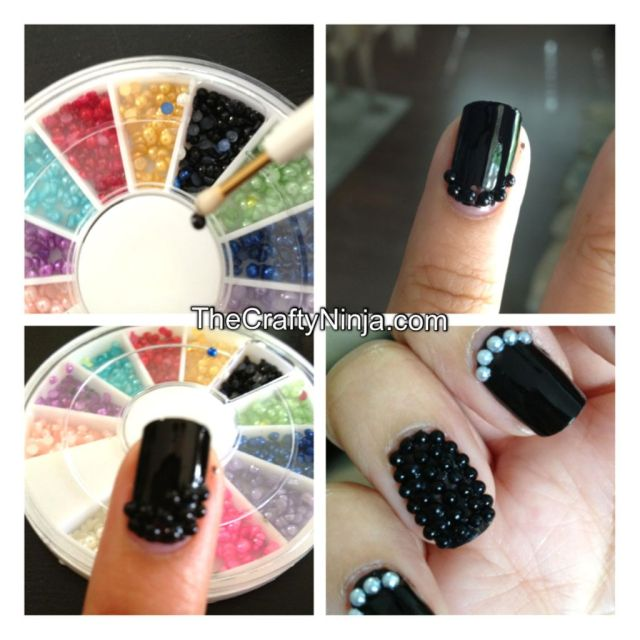 diy caviar nails