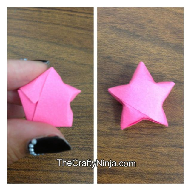 lucky star origami 