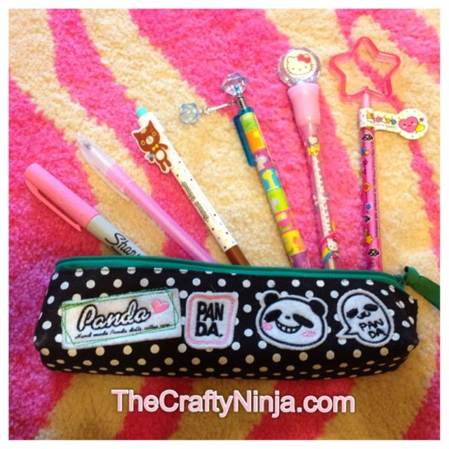 cute pencils case
