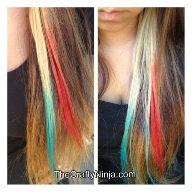 kool aid ombre hair