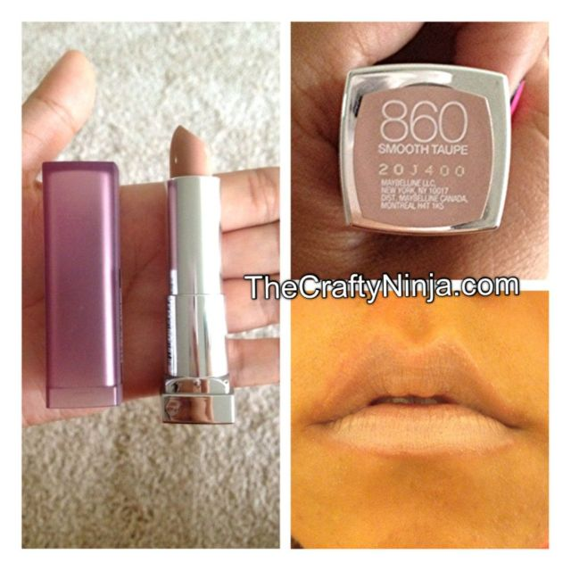 maybelline smooth taupe
