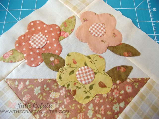 Turned Edge Applique Tutorial (May Day Basket) Part 2