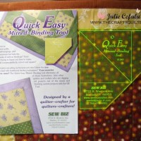 Product Review - Quick Easy Mitered-Binding Tool