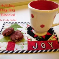 Holiday Mug Rug Tutorial