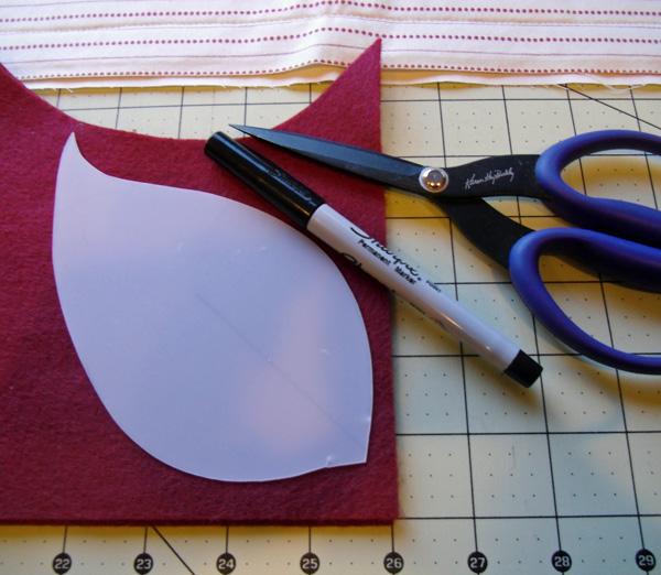 poinsettia petals cutting tools