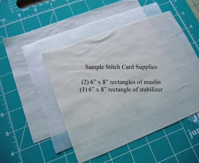 Sample stitch card supplies copy