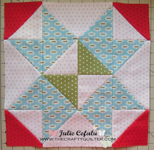 FQS Mystery BOM Block 8 @ The Crafty Quilter