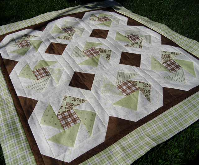 baby quilt top angles