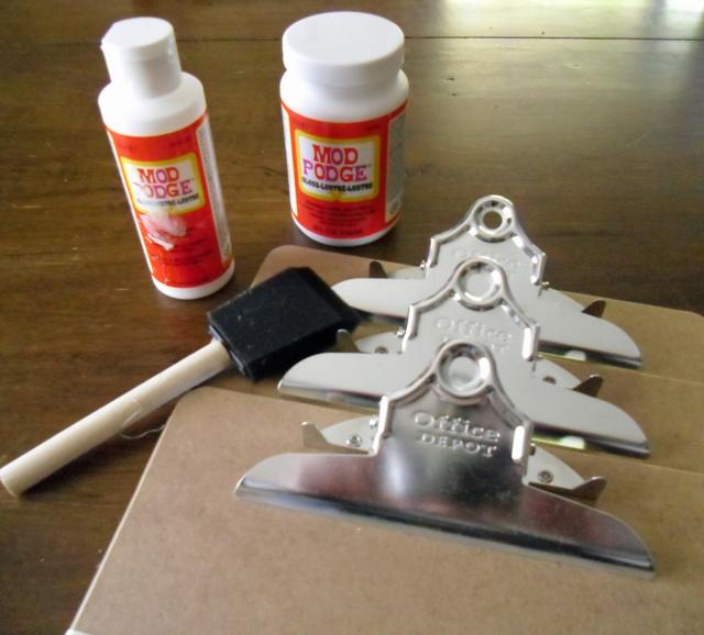 clipboard supplies