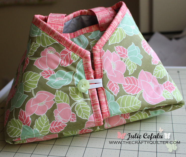 Caddy Pad, Iron Tote & Pad, made by Julie Cefalu