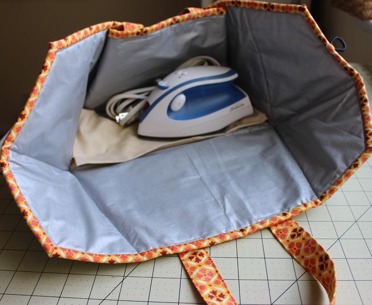 Caddy Pad, Inside, made by Julie Cefalu