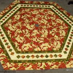 Christmas Tree Skirt by Quilting Lines