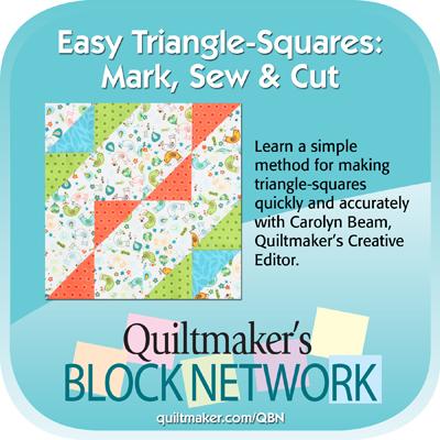 quiltmakers block netwrok