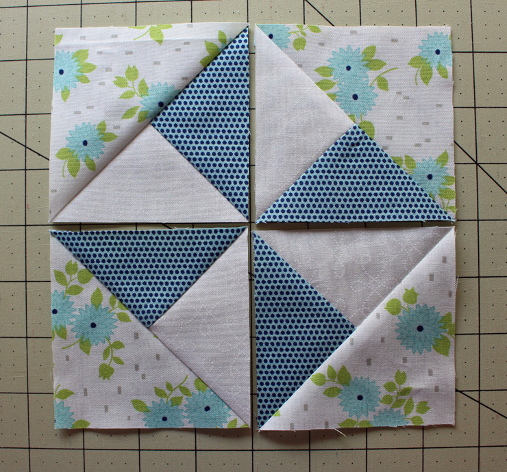 pinwheel lay out