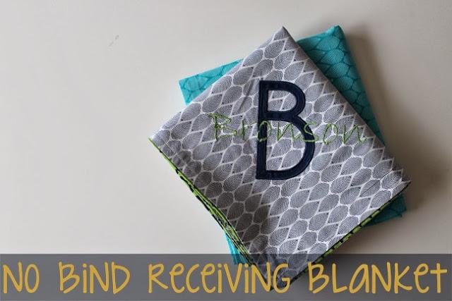 No Bind Receiving Blanket