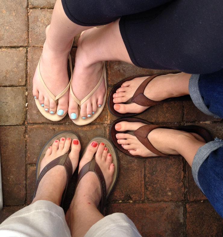 pretty toes a