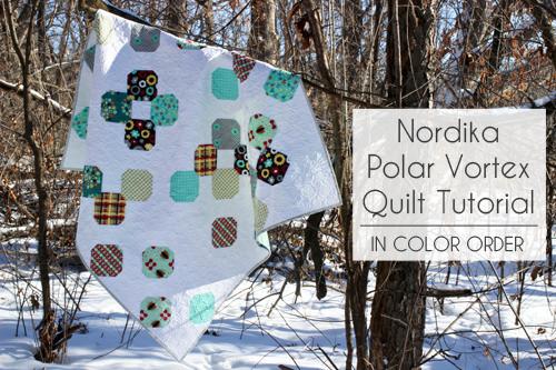 Nordica Polar Vortex Quilt Tutorial @ In Color Order