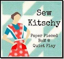 Sew Kitschy Paper Pieced BOM @ Quiet Play
