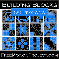 2014 Building Blocks Quilt Along @ The Free Motion Quilting Project