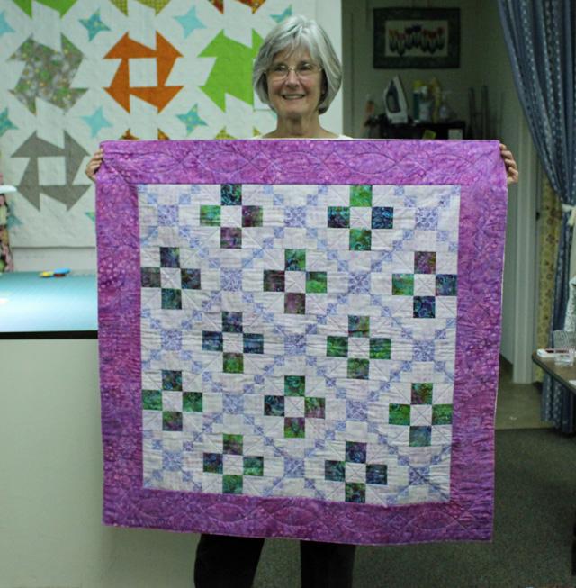 Judy's quilt