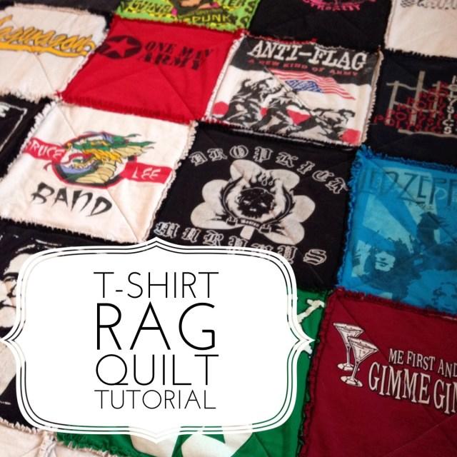 Tshirt Rag Quilt