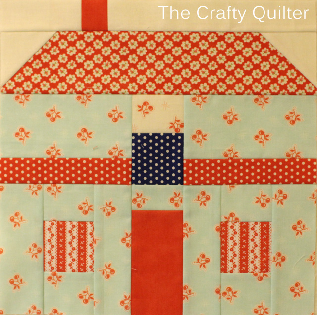 FQS 2014 BOM block 8 @ The Crafty Quilter