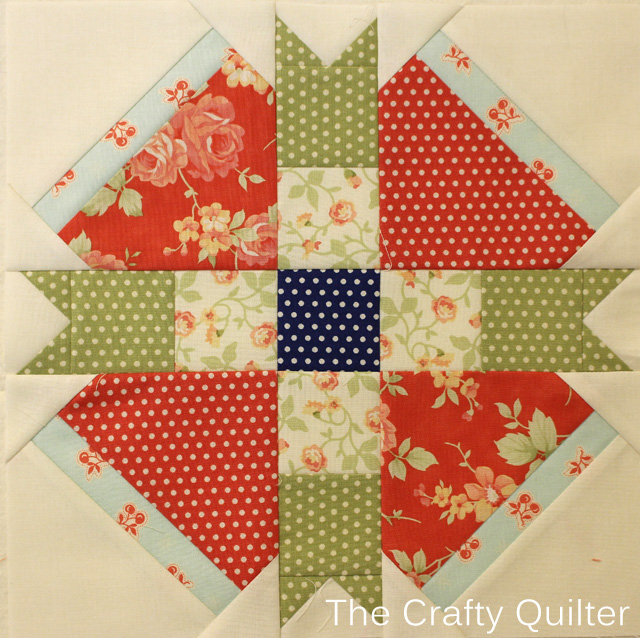 Month 10 Block from FQS 2013 BOM by Julie Cefalu