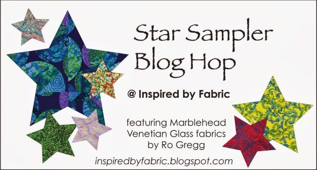 Star Sampler Blog Hop @ Inspired by Fabric