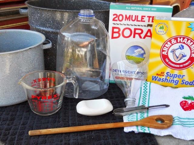 laundry ingredients
