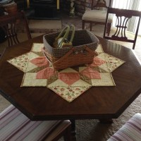 How to turn a Swoon block into a table topper