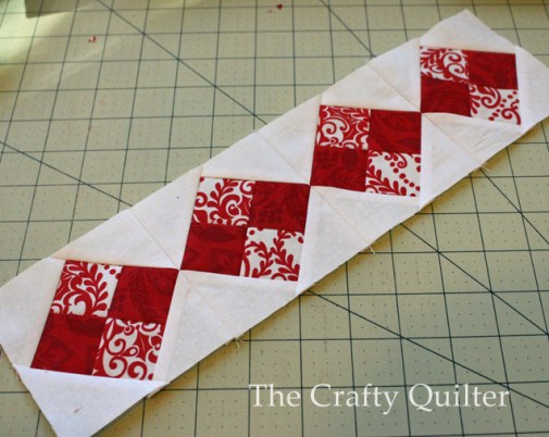 Nordic Mini QAL, Row 3 @ The Crafty Quilter
