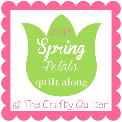 Spring Petals Quilt Along @ The Crafty Quilter, April/May 2015