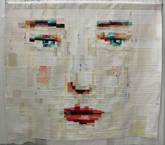 "Judge's Choice, Improvisation:  ""Face #1"" by Melissa Averinos"