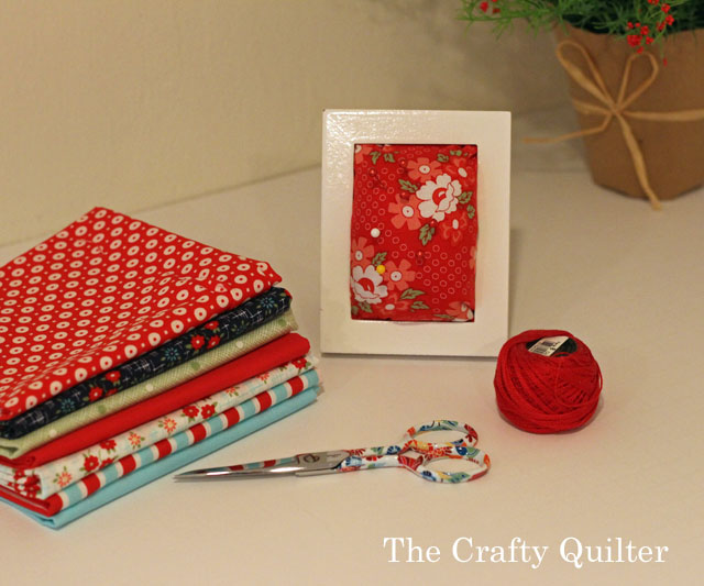 Picture Frame Pincushion @ The Crafty Quilter