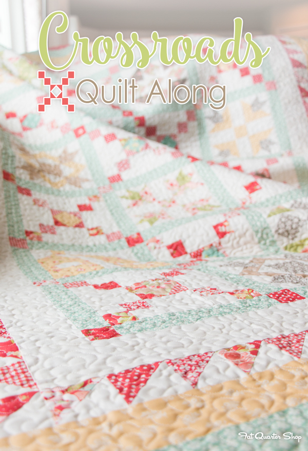 Crossroads quilt along