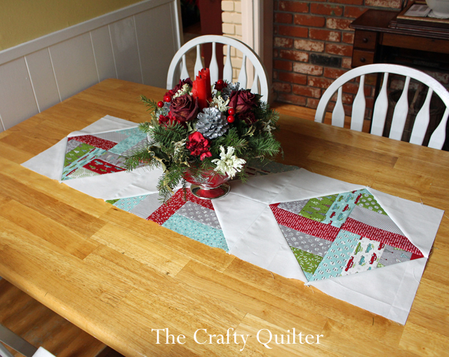 Table runner made by Julie Cefalu