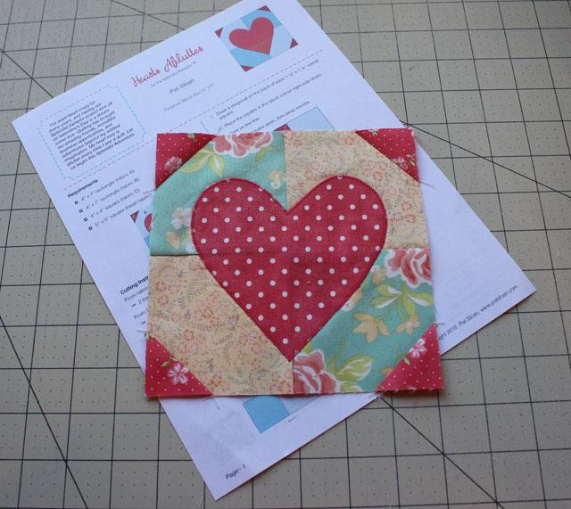 Hearts Aflutter made by Julie Cefalu