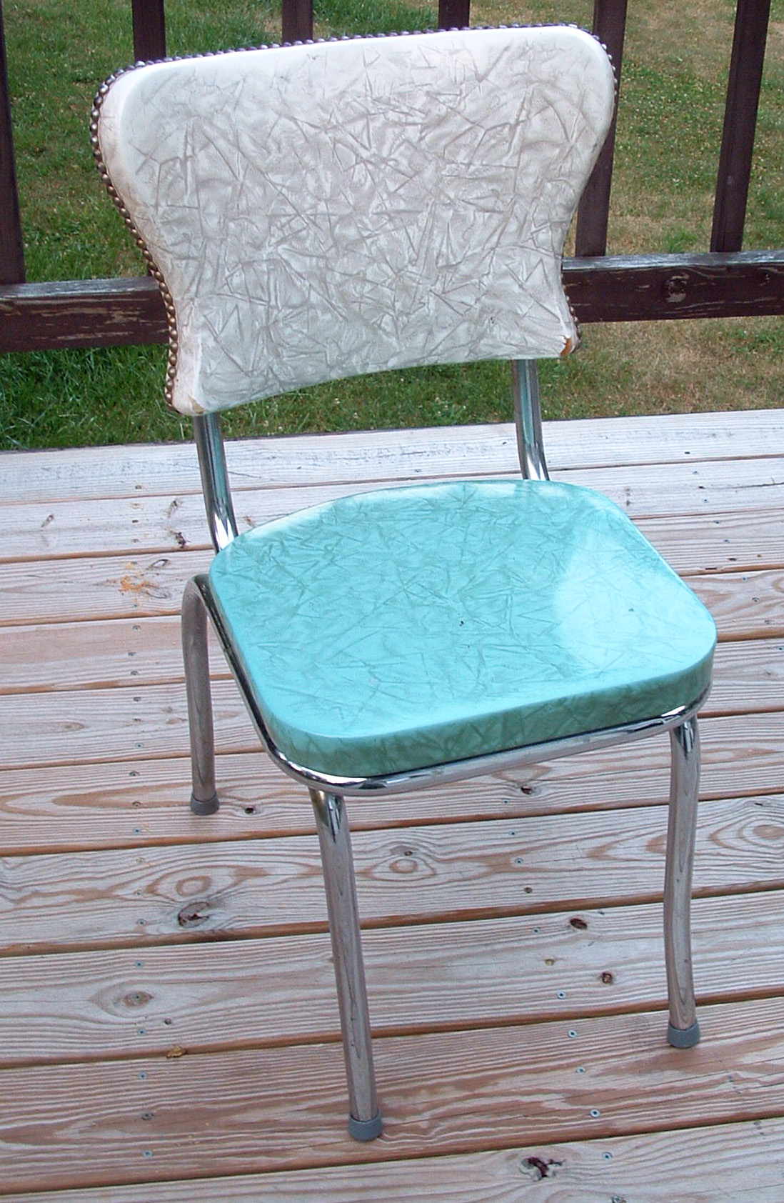 crafty challenge 9 kitchen chair re upholstery teal kitchen chairs Original chair before re upholstery