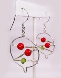 Christmas Advent: Tree Pendant and Christmas Ball Earrings ...