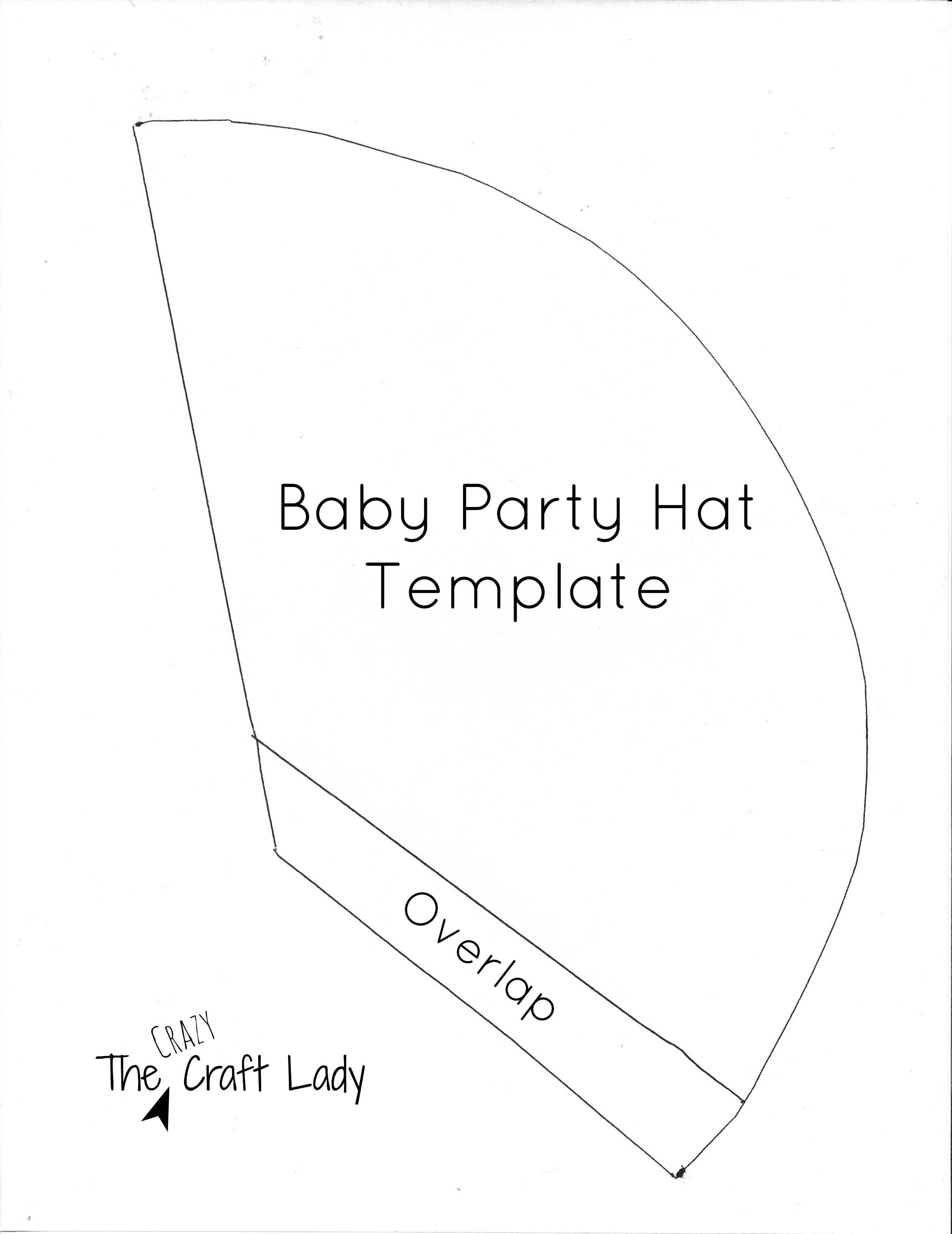 Police Officer Hat Craft Auto Electrical Wiring Diagram Sony Cdxgt710hd Harness Baby Party Hats And Free Printable Template