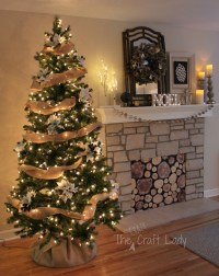 Easy-Peasy Christmas Tree Decorating - The Crazy Craft Lady