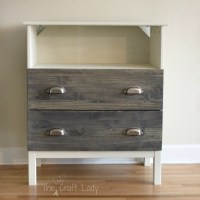 Ikea Tarva Dresser - Turned TV Stand